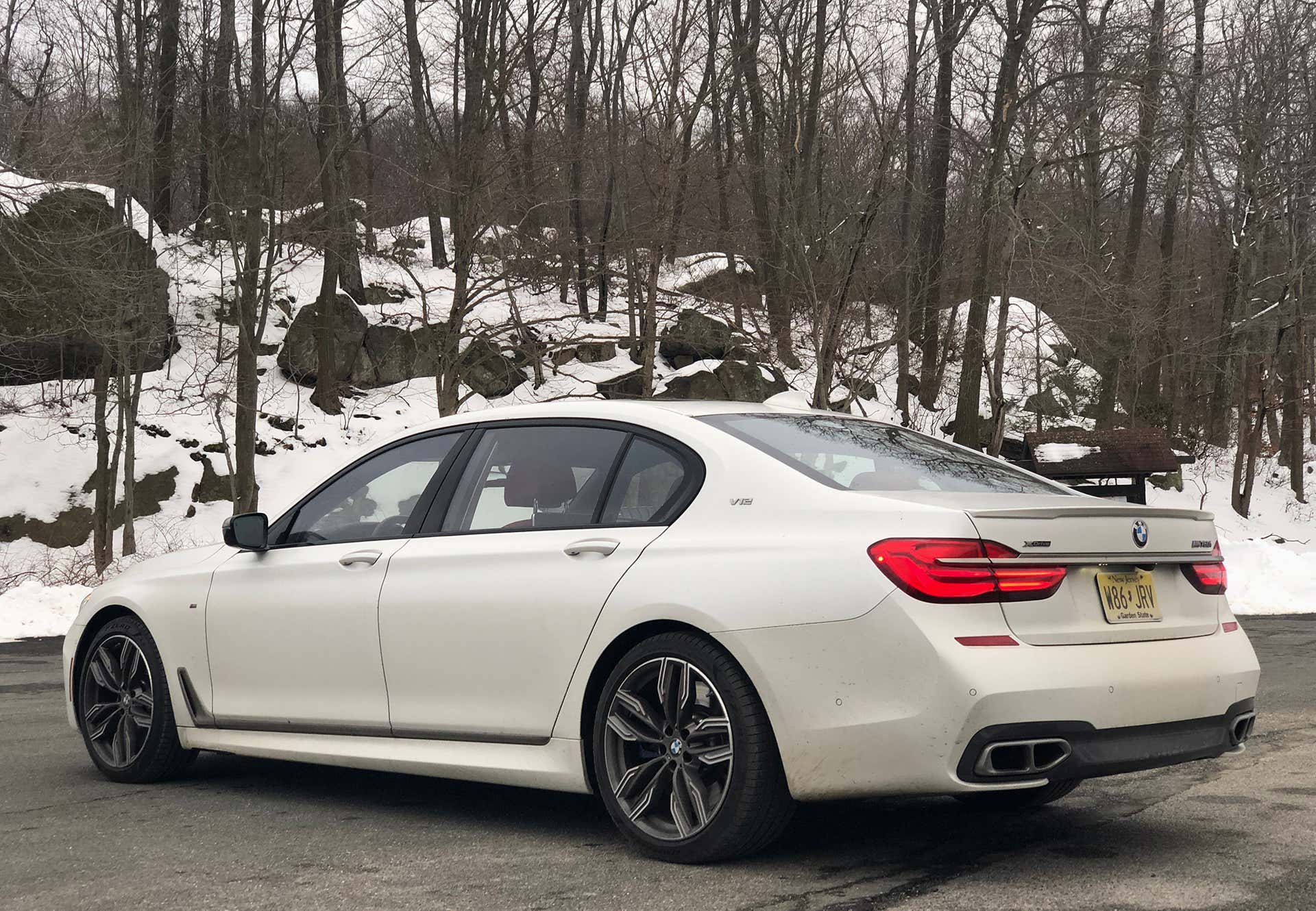 bmw m760i xdrive review test drive will sabel courtney