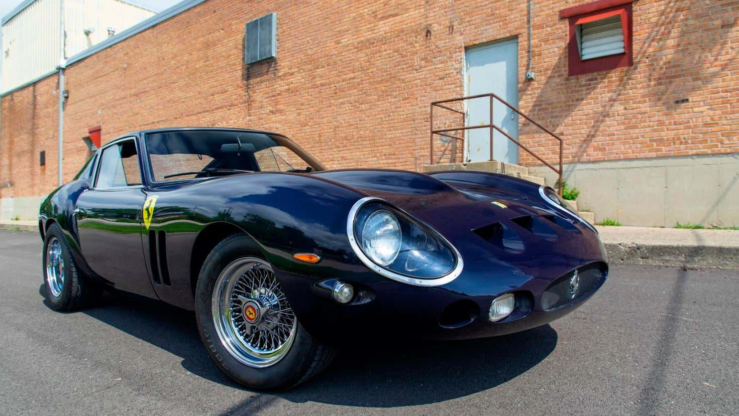 Ferrari 250 Gto Replica Driven By Tom Cruise In Vanilla Sky Heads To Auction