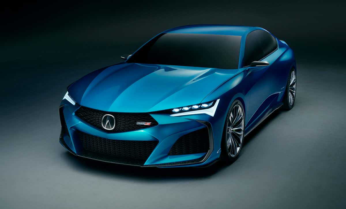 New Acura Type S Concept Is Proof That Beautiful Japanese Sports Cars Still Exist