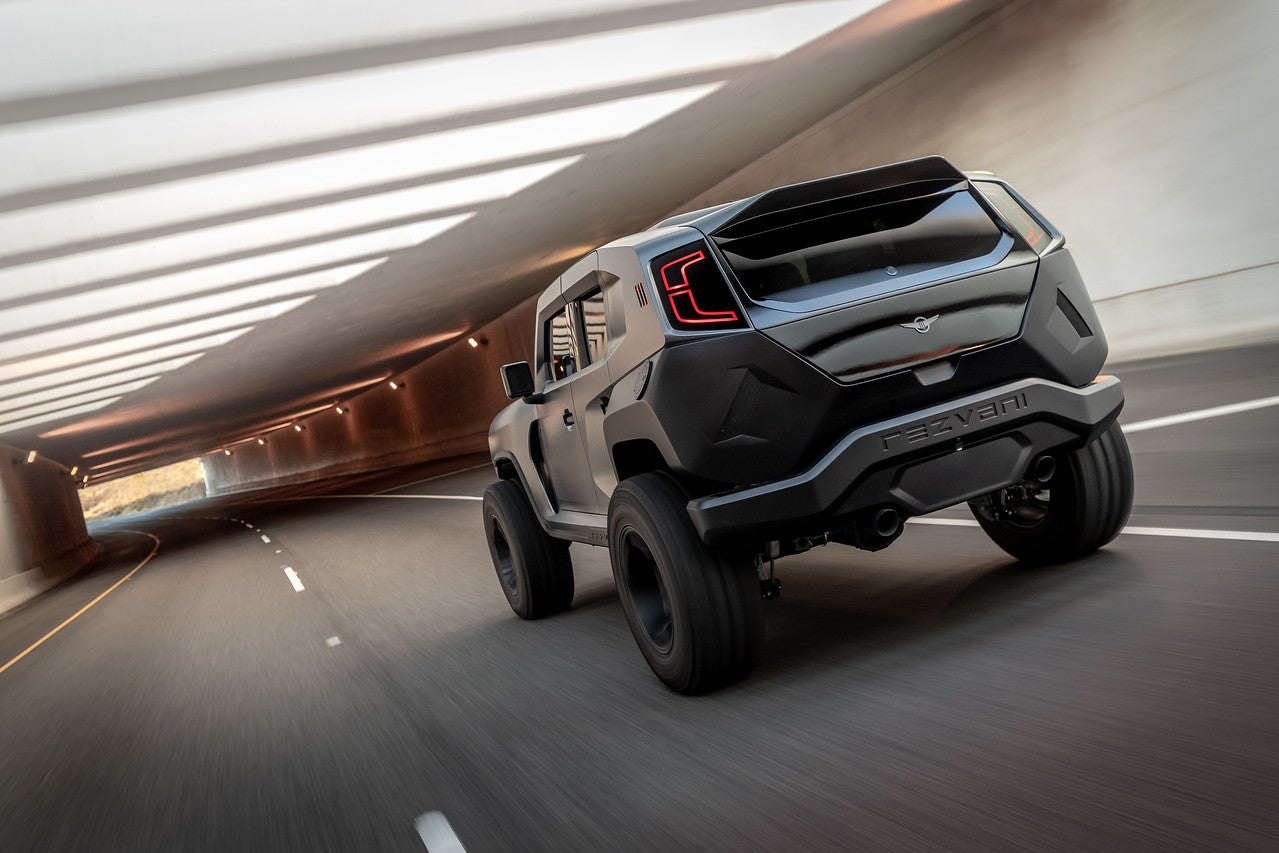 2020 Rezvani Tank Is A Dodge Demon Powered Jeep Wrangler Based Off Road Warrior The Drive