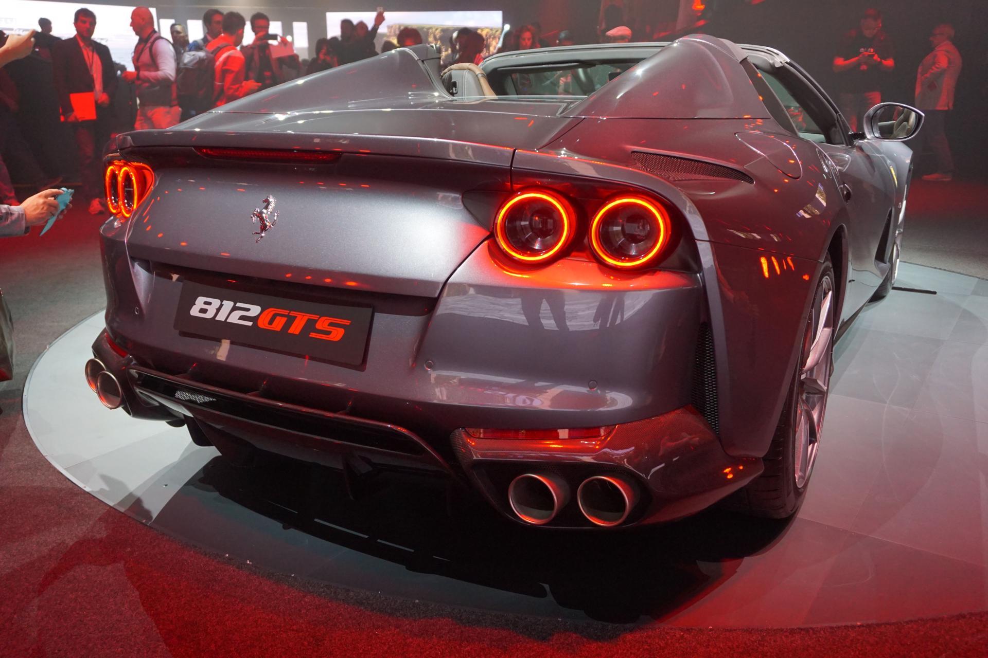 The 2020 Ferrari 812 Gts Is A 790 Horsepower Convertible Weapon