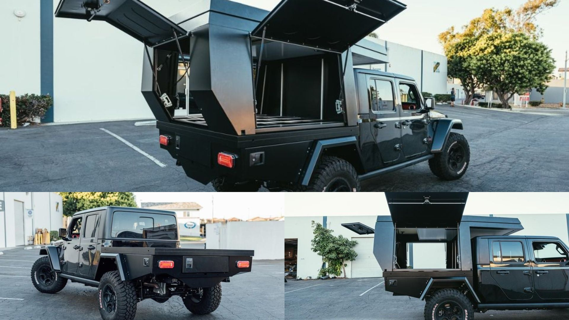 This Pricey Kit Turns Your Jeep Gladiator Pickup Into An Ultra Capable Overland Camper