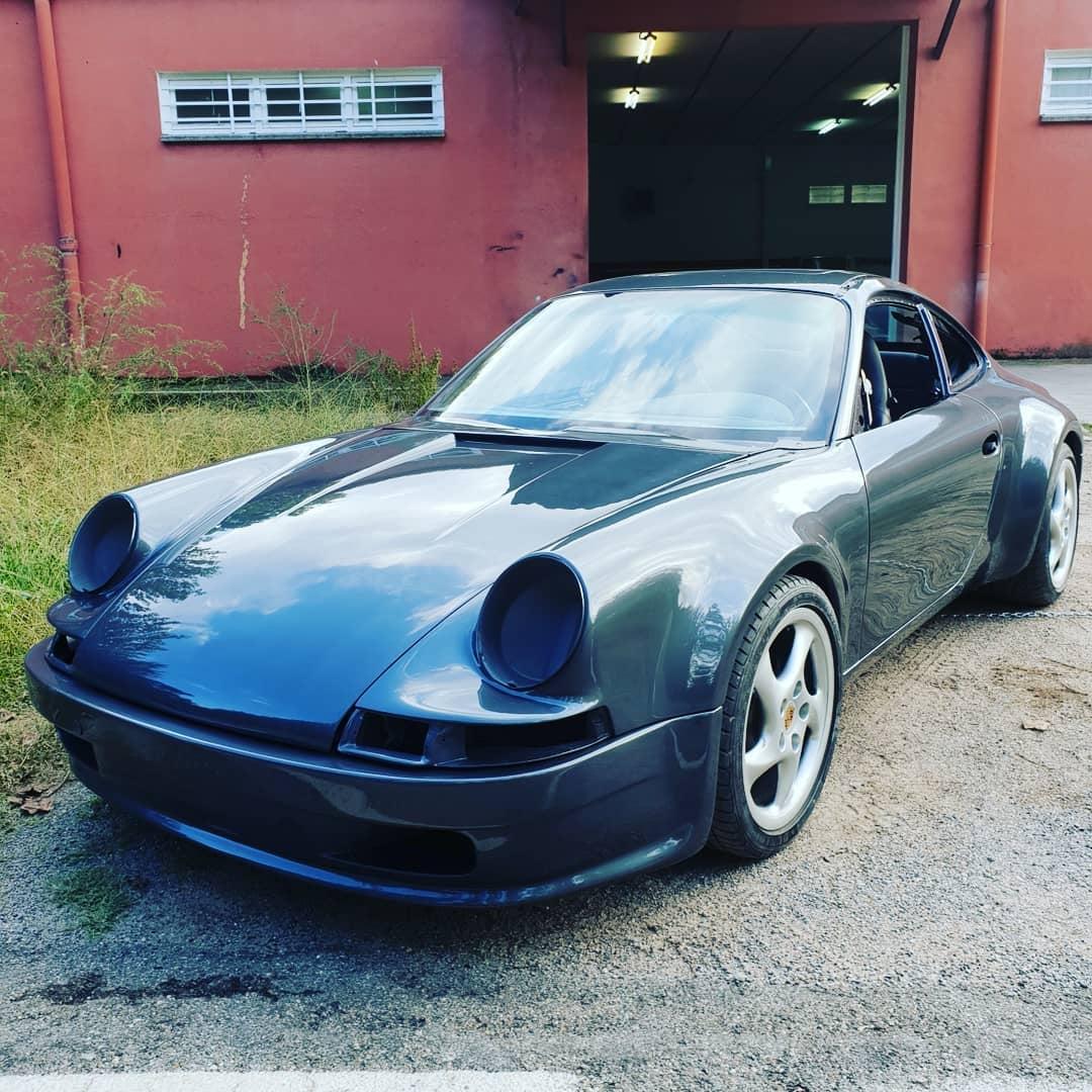 Classic Porsche 911 Is Actually A 996 Gen With A Bizarro Retro Body Kit