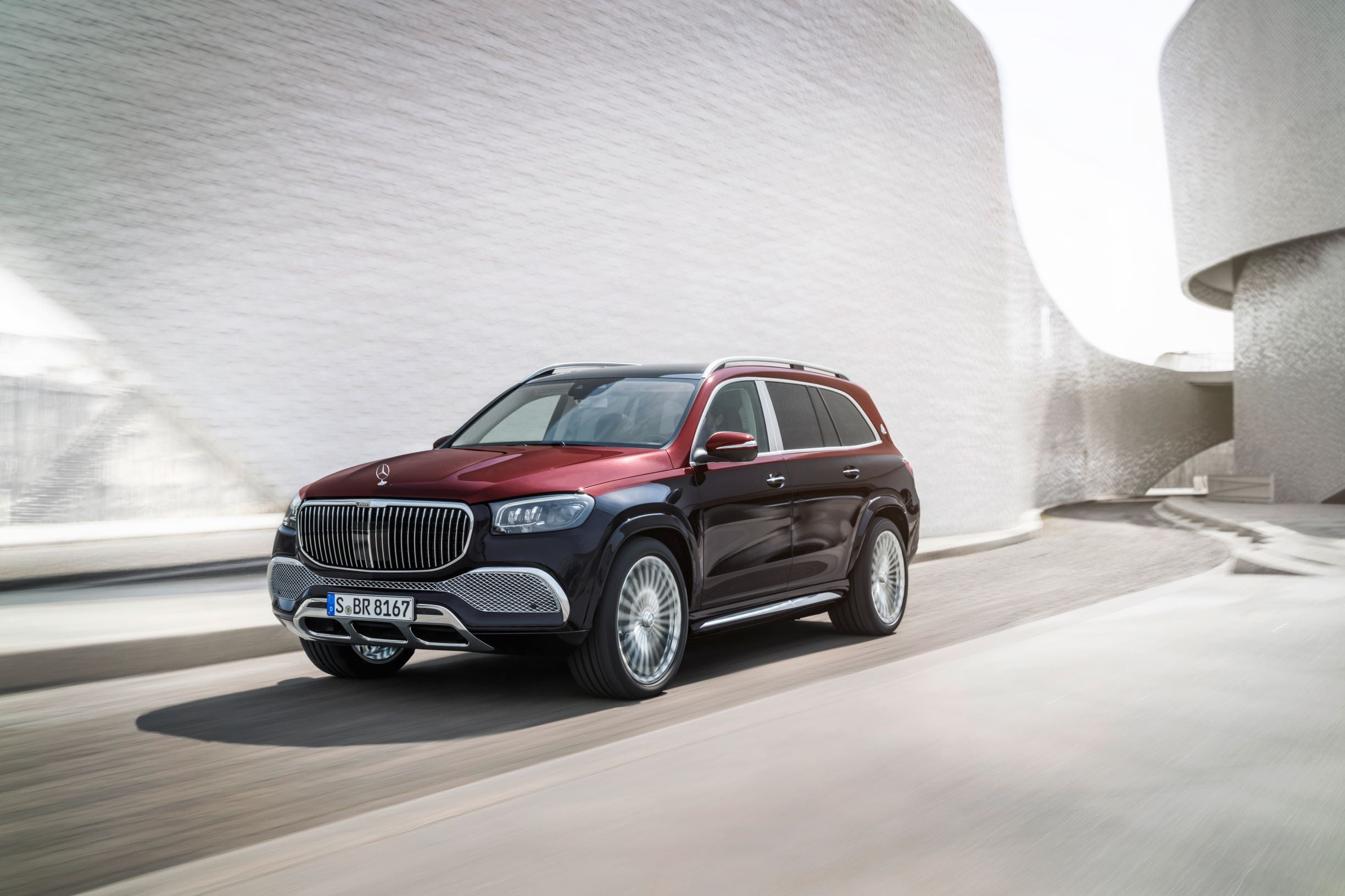 2021 Mercedes Maybach Gls Out Chromes And Out Glams The Competition