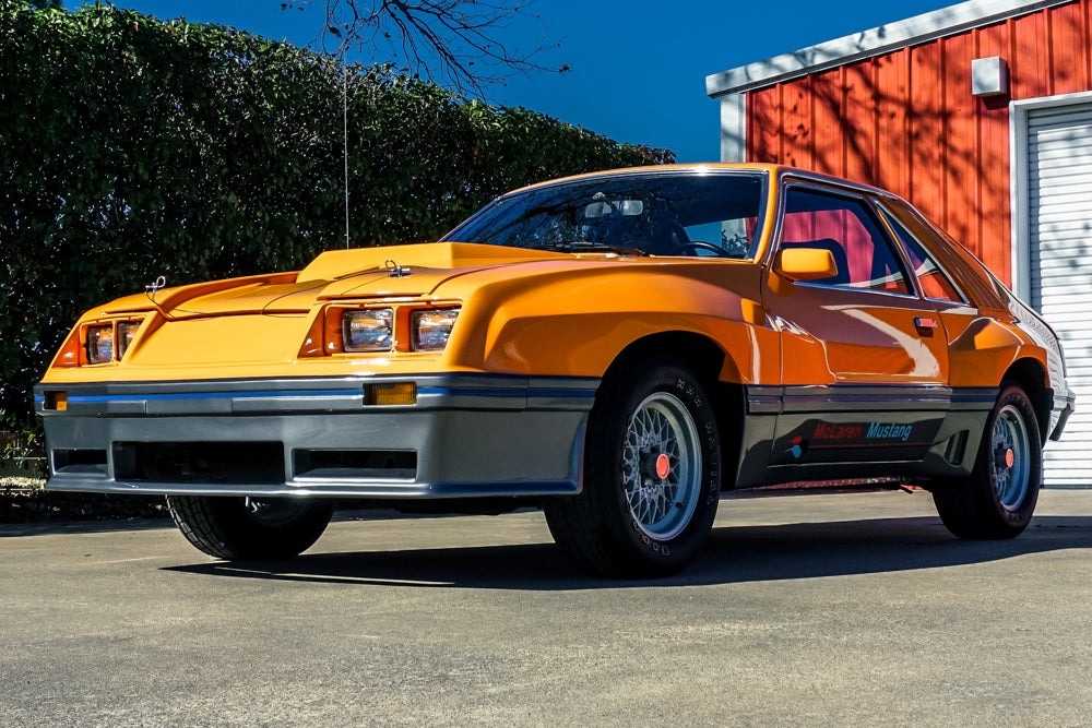 One Of The World S Rarest Ford Mustangs The Mclaren M81 Is Headed To Auction