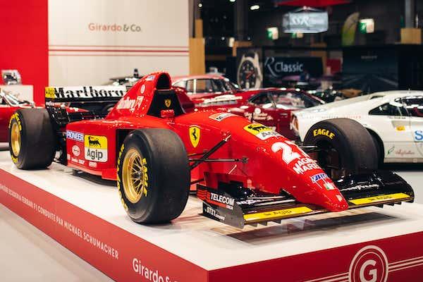 Michael Schumacher S First Ferrari Formula 1 Car Is For Sale Right Now