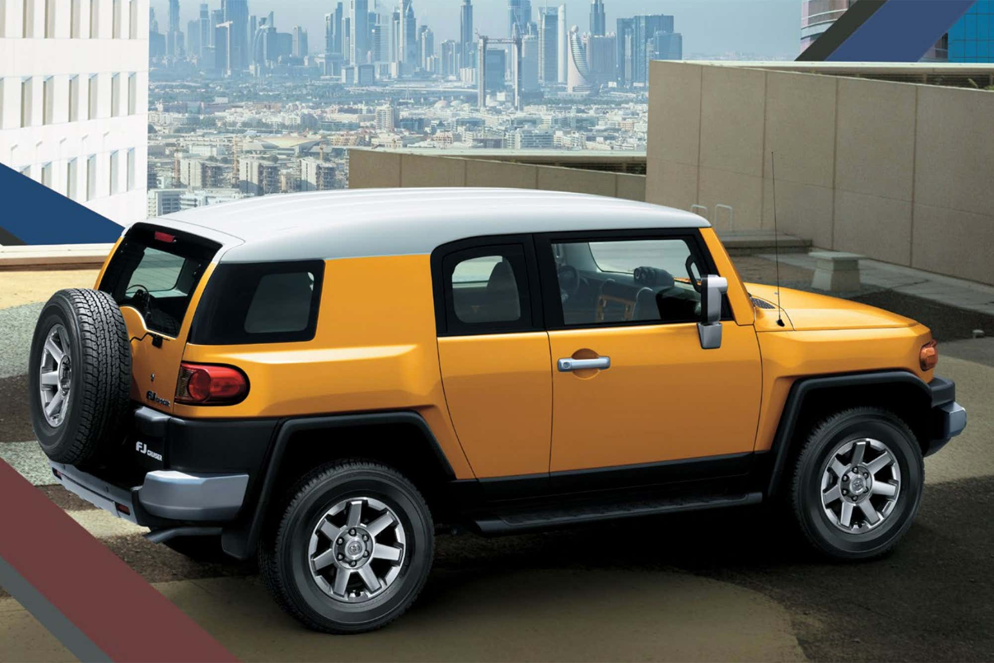 You Can Still Buy A Brand New Toyota Fj Cruiser In The Middle East For 40k
