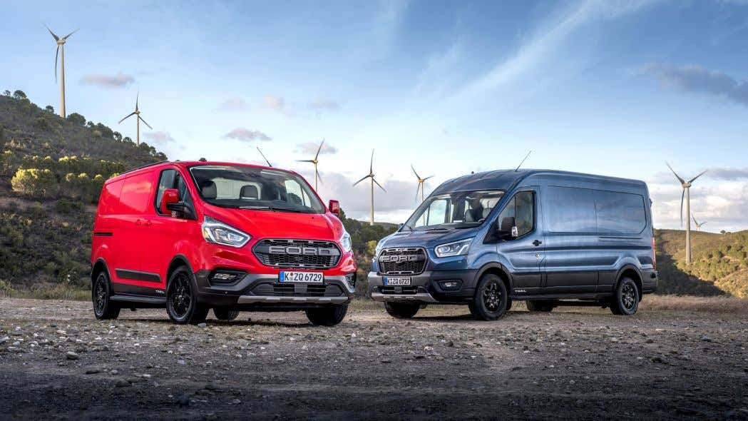 the ford transit trail van has awd a raptor grille and drive modes to conquer the elements the ford transit trail van has awd a