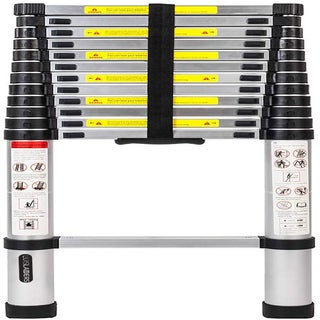 Luisladders Aluminum Telescopic Extension Ladder