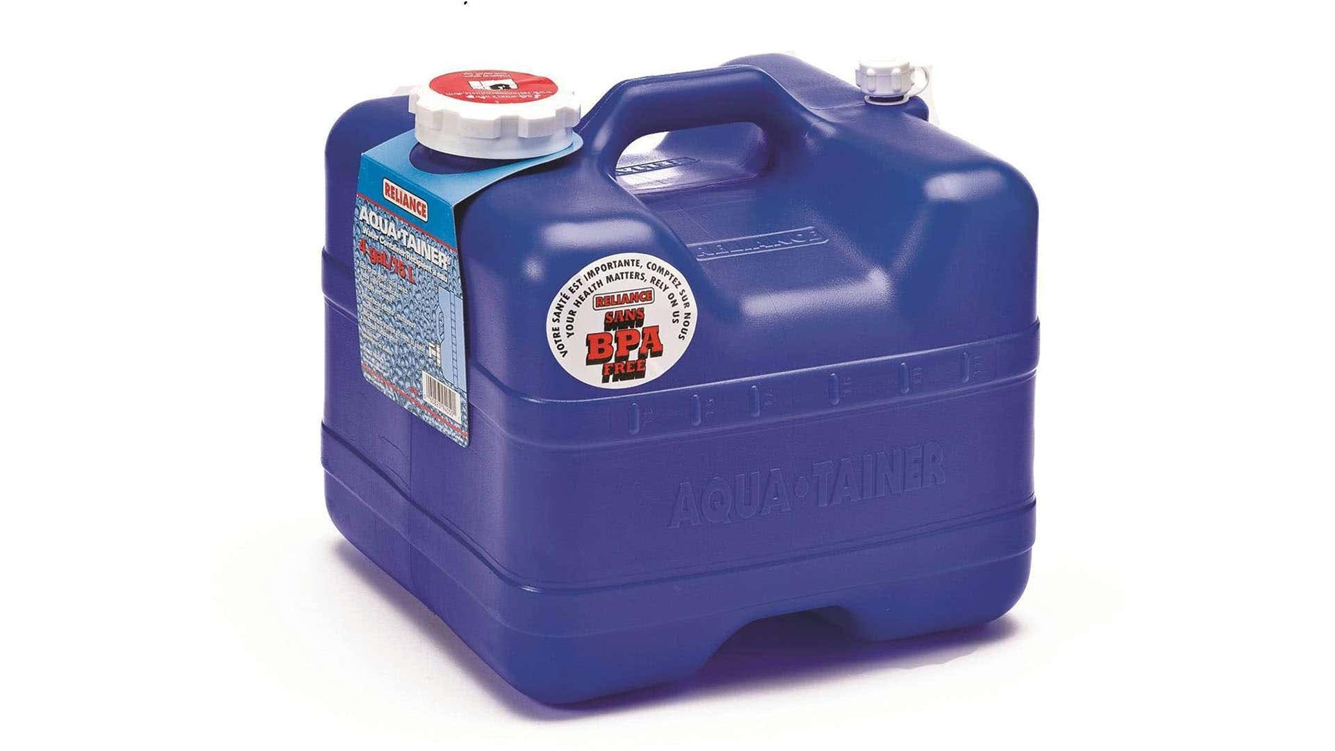 During camping, water can be used for drinking, making food, brushing teeth, and cleaning.