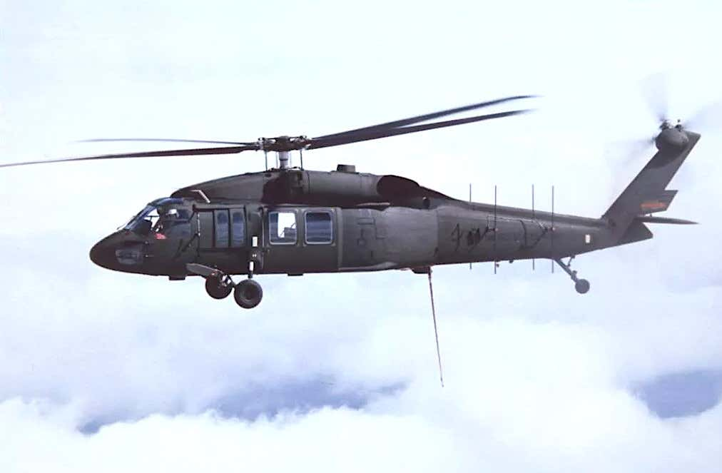 This Is The First Photo Ever Of A Stealthy Black Hawk HelicopterThe Drive