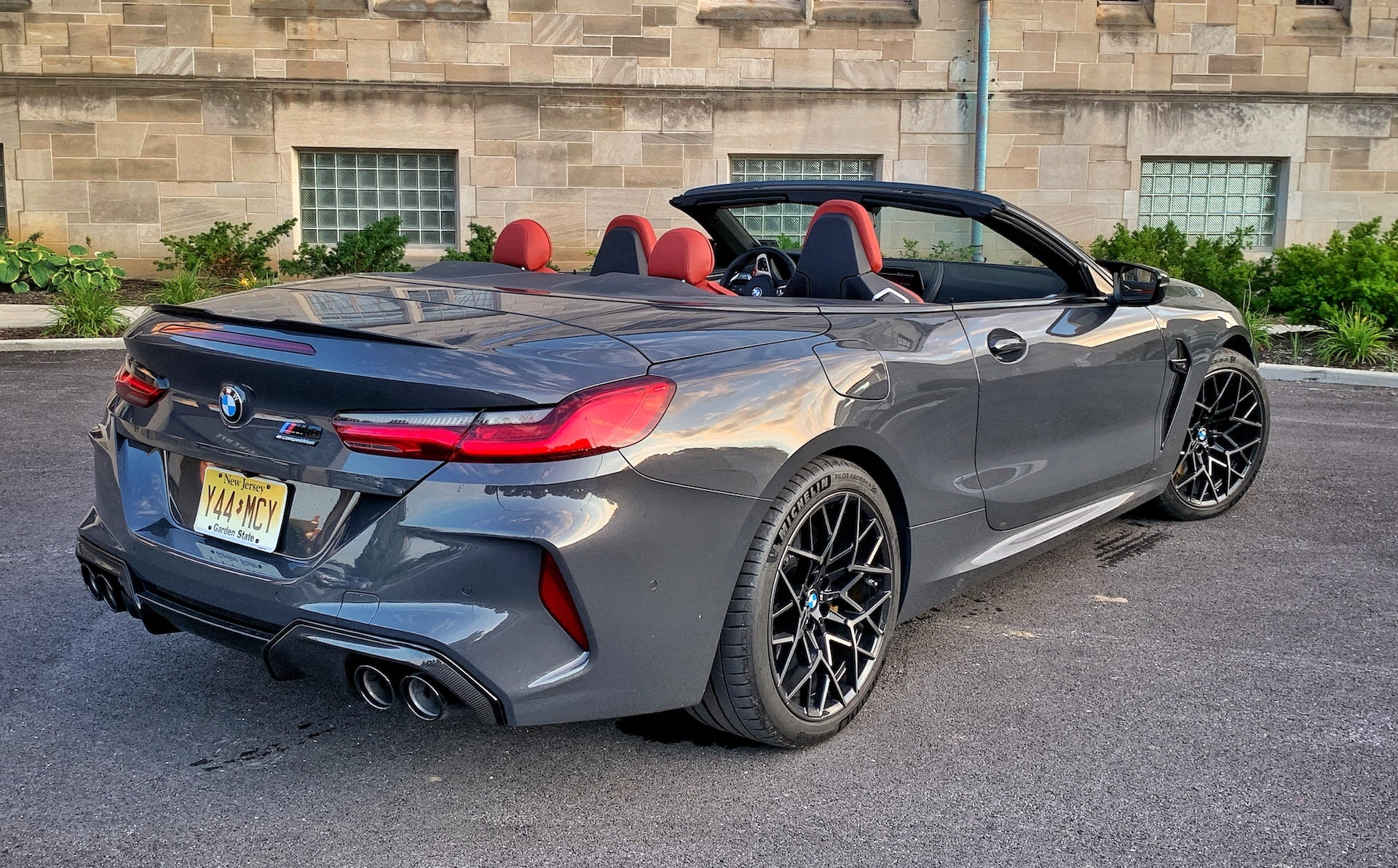 2020 Bmw M8 Competition Convertible It S More Fun When It S Parked