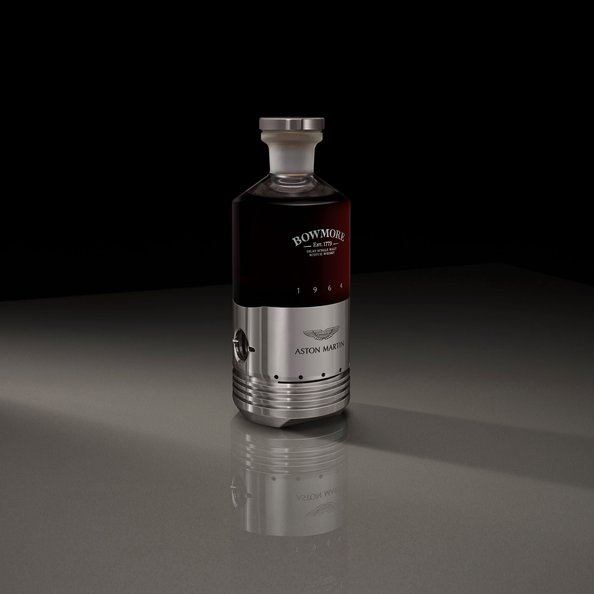 This $65,000 Bowmore Whisky Has A Real Aston Martin DB5