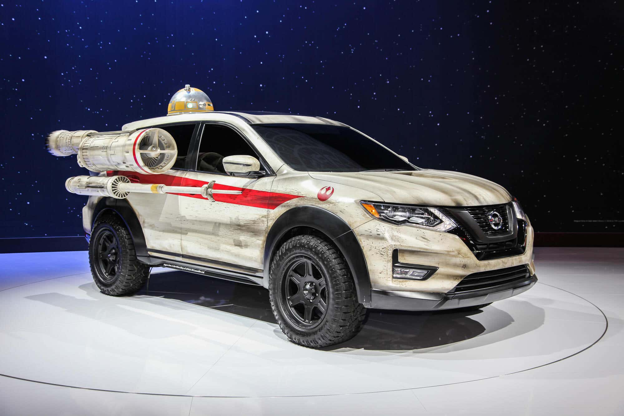 Nissan Rogue at New York International Auto Show