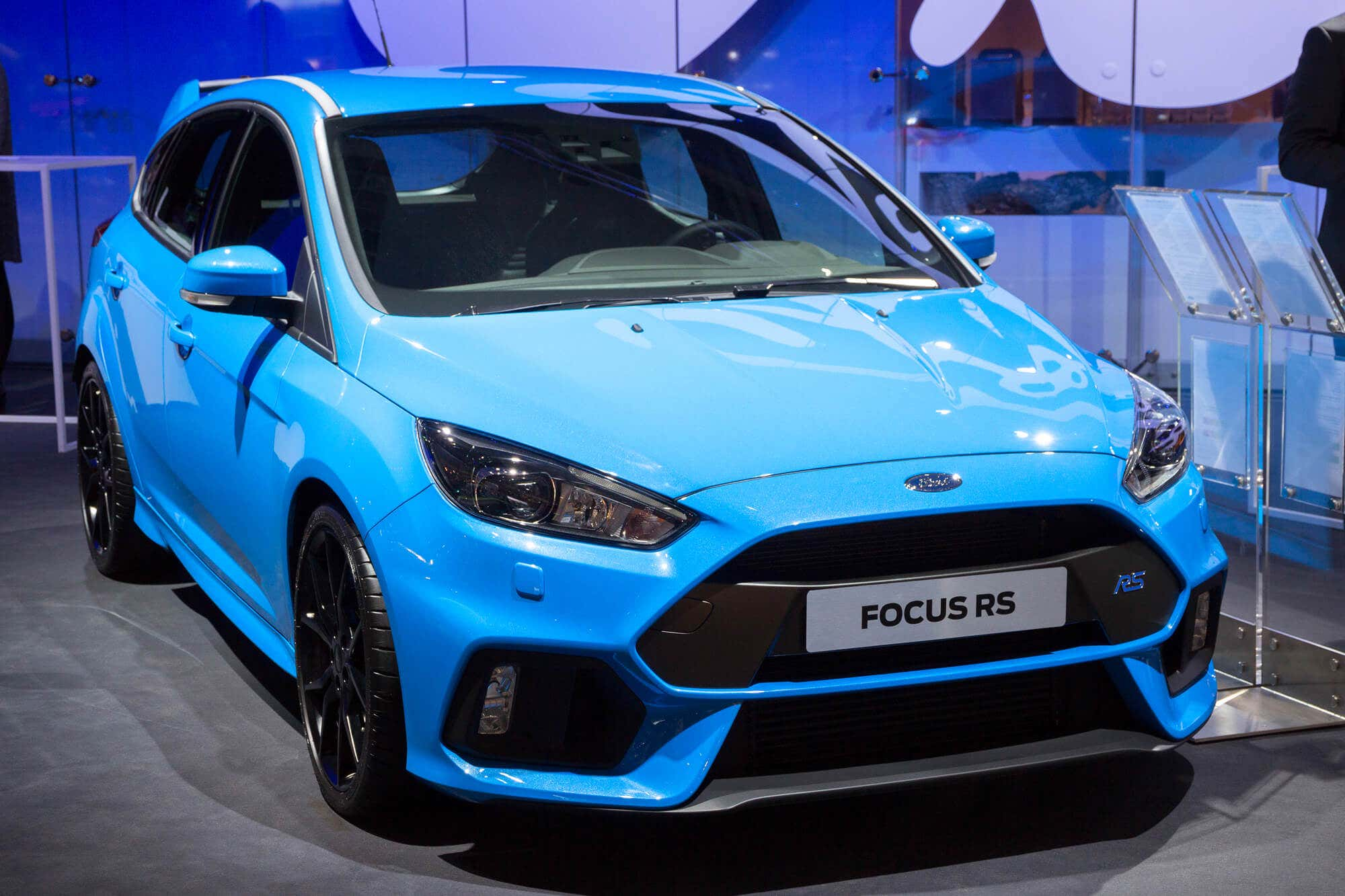 Ford Focus RS model