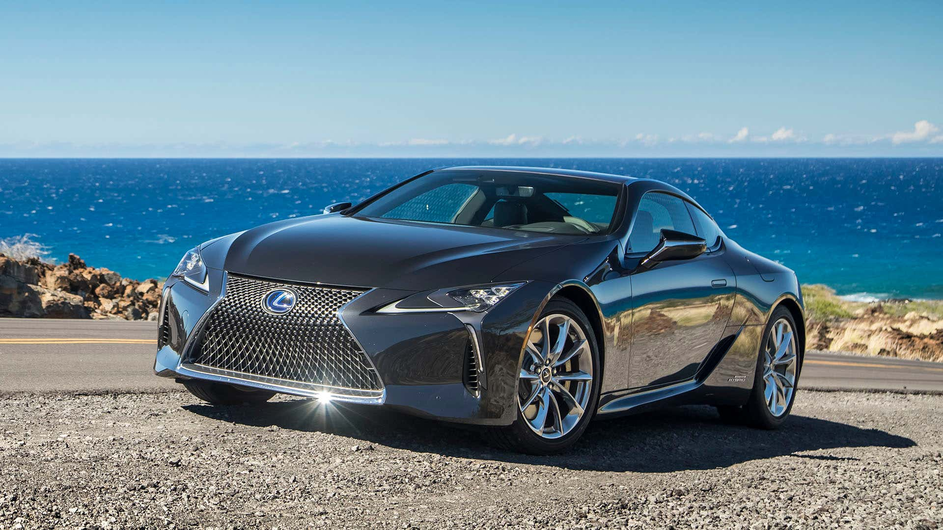 The Lexus LC 500 is one of the most beautiful hybrids ever produced.