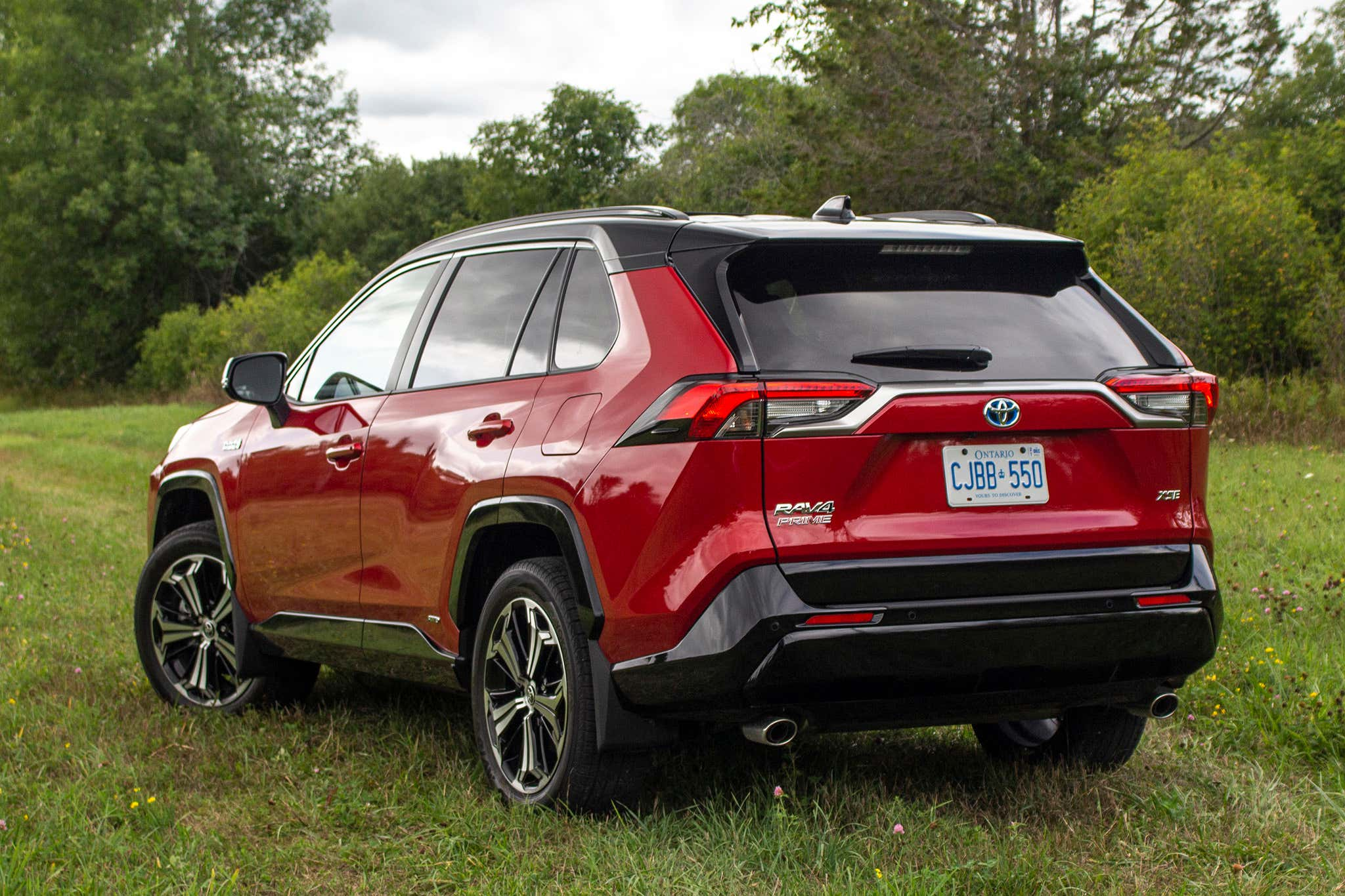 the 2021 toyota rav4 prime is a 302-hp plug-in hybrid that