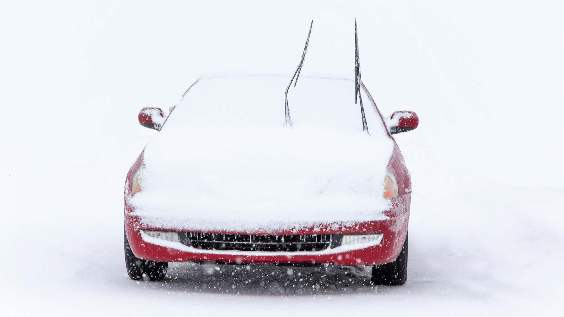 Stand windshield wipers up when snow is expected.