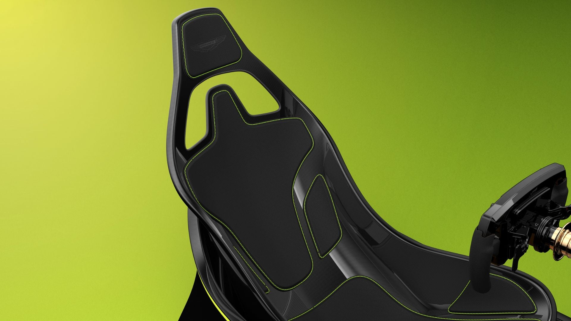 The Aston Martin Amr C01 Is A Carbon Fiber Racing Sim Rig Modeled After The Valkyrie Hypercar
