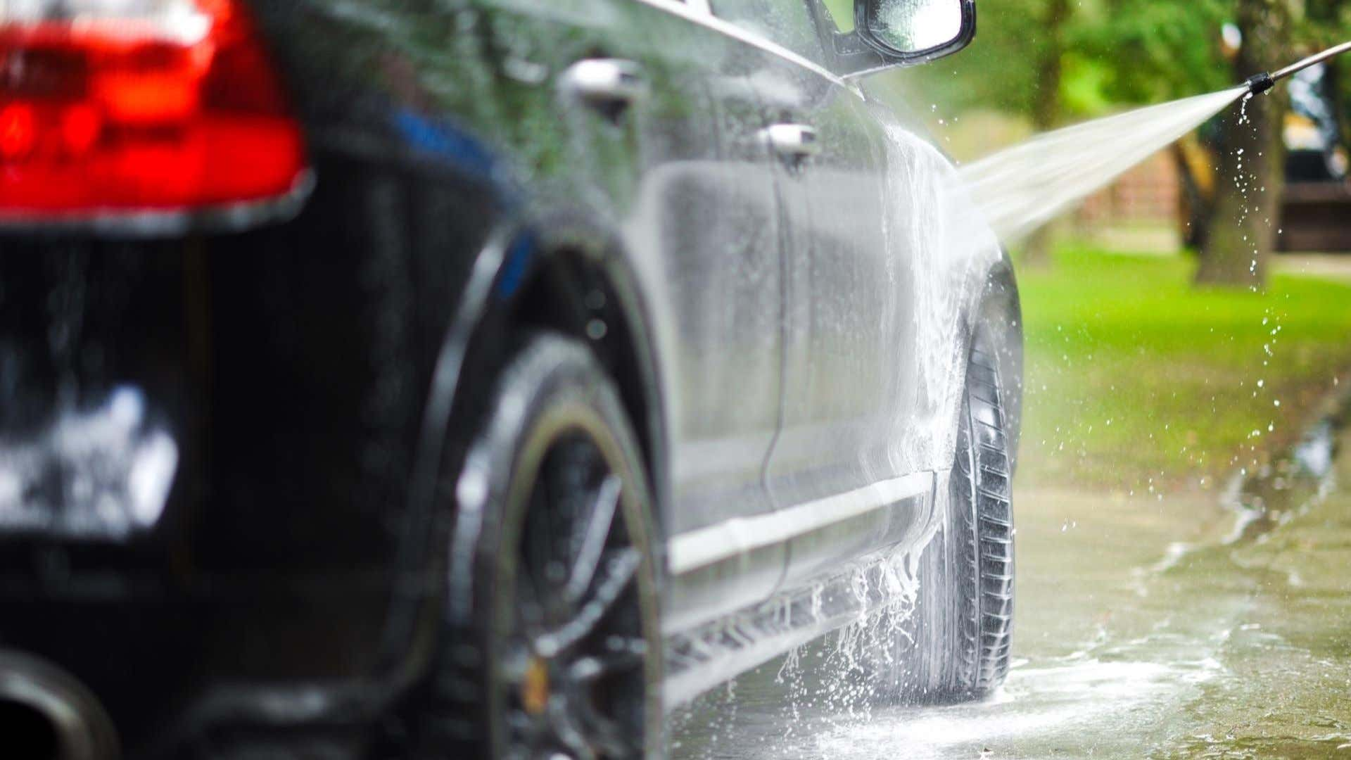 Wash your car only after the paint dries.