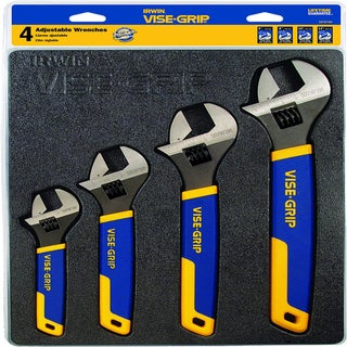 IRWIN VISE-GRIP Adjustable Wrench Set