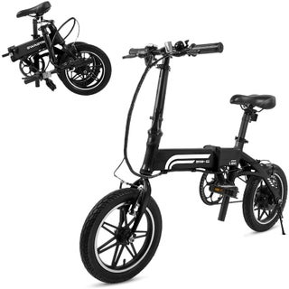 SwagCycle EB-5 Pro Lightweight and Aluminum Folding Commuter EBike