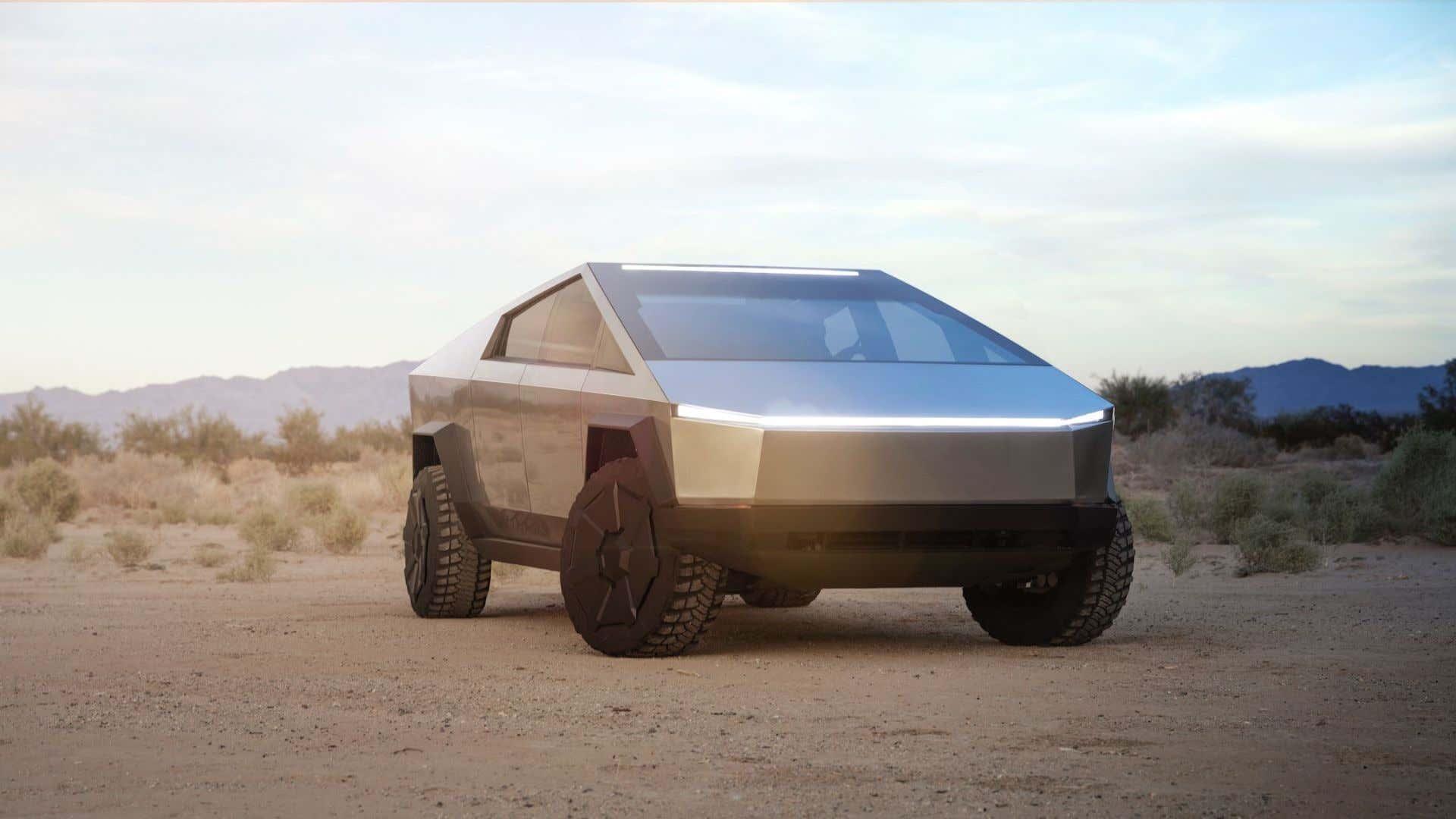 Tesla's controversial Cybertruck