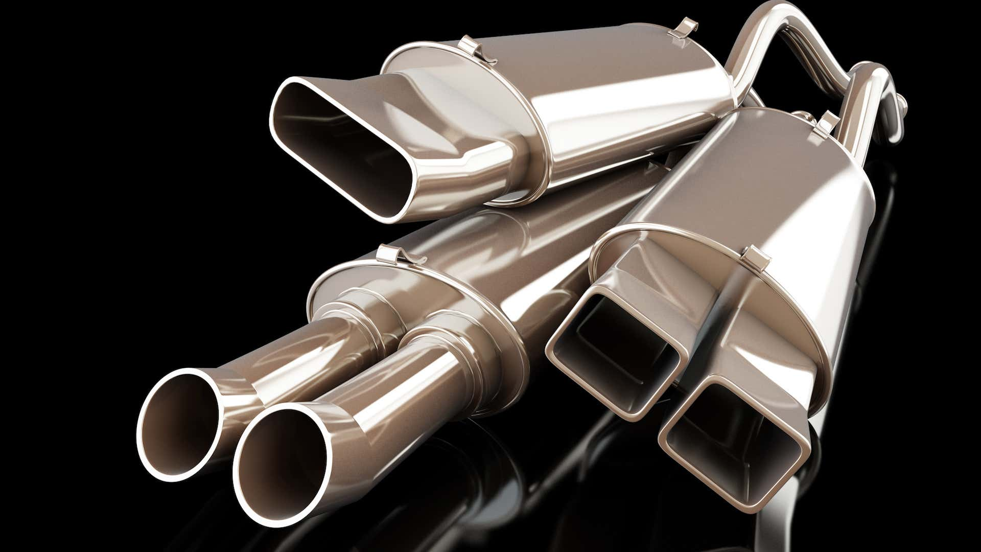 Exhausts and resonators come in all shapes and sizes.