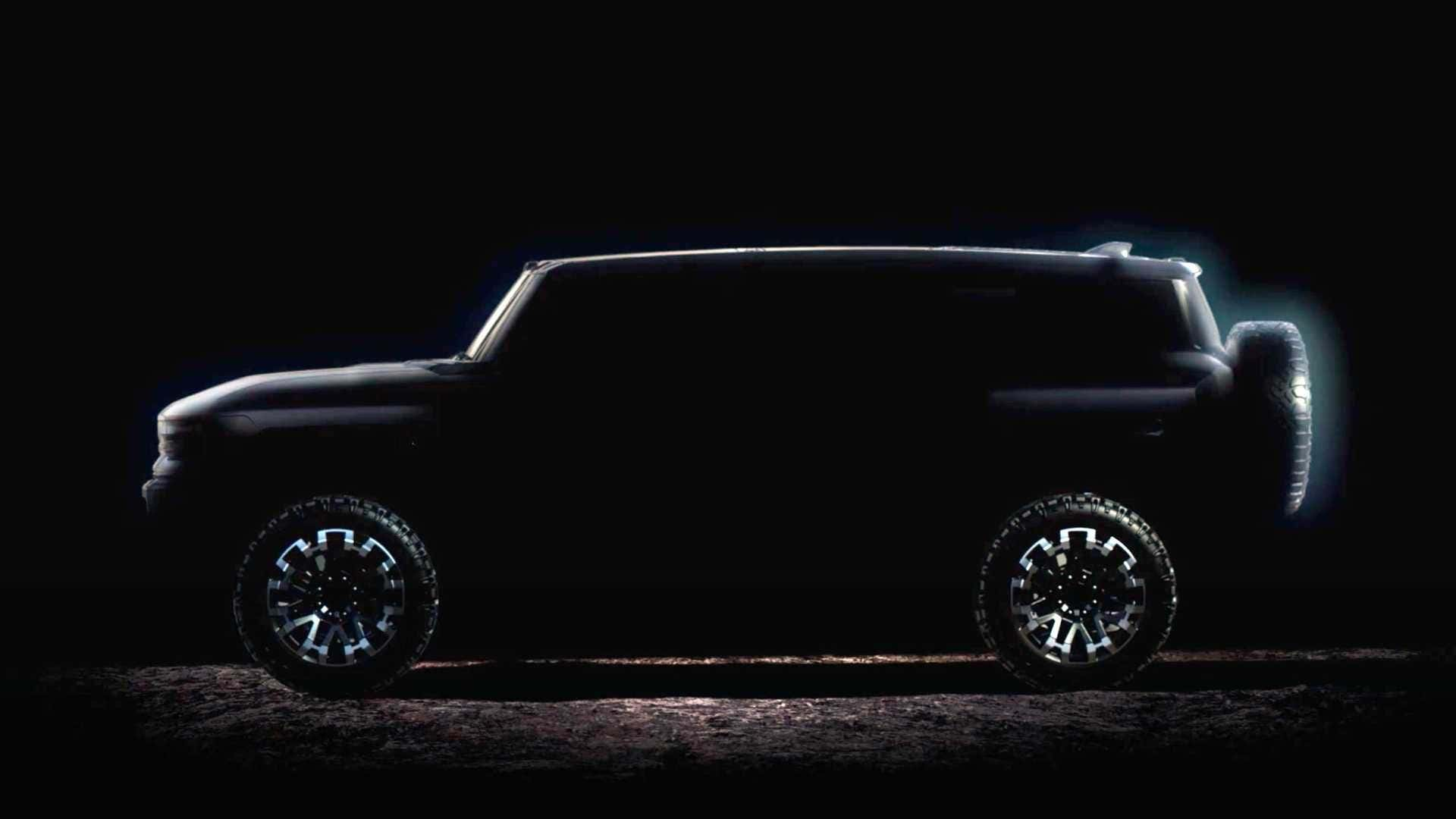 Another teaser for the GMC Hummer EV.