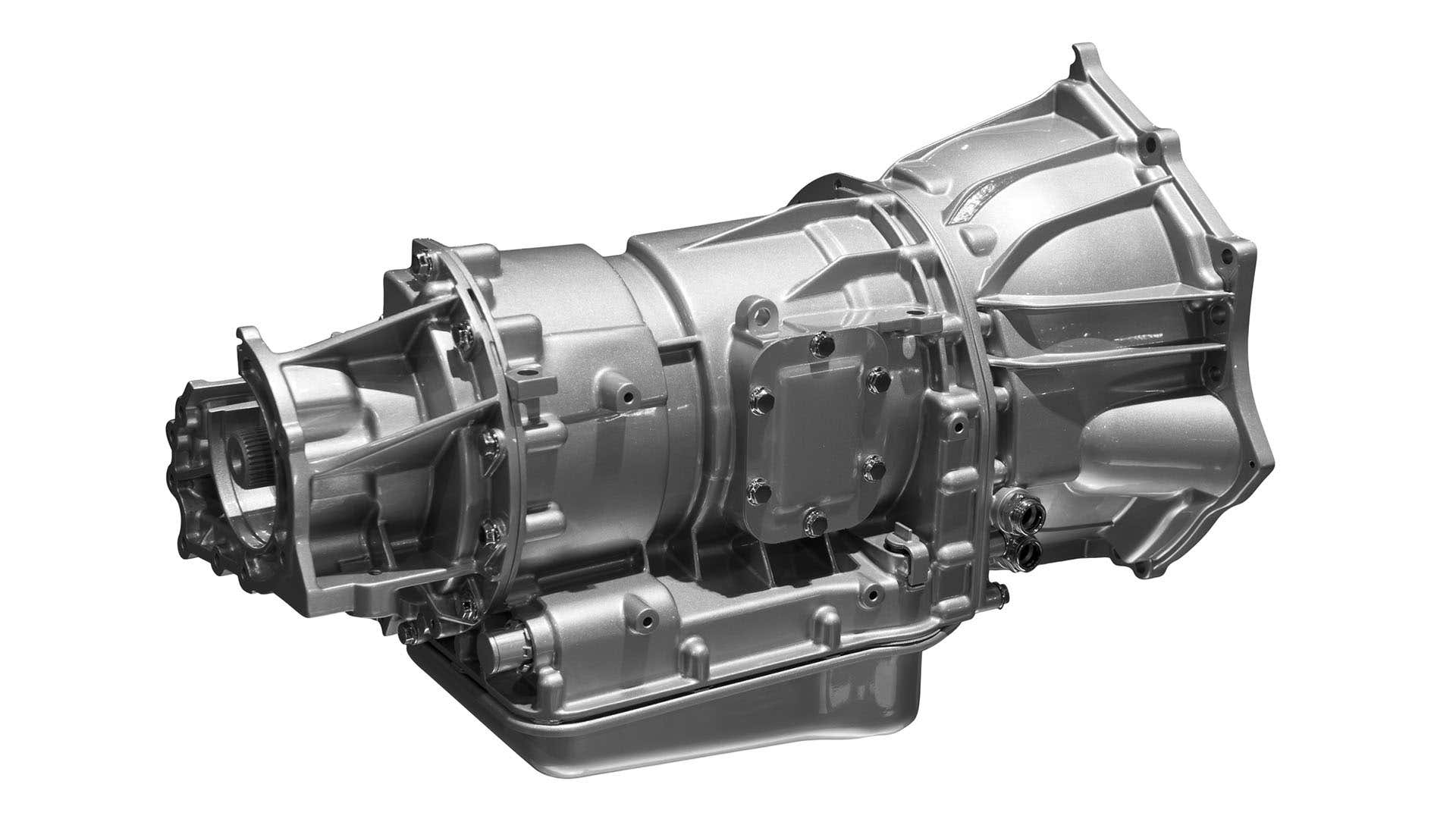 An automatic transmission.