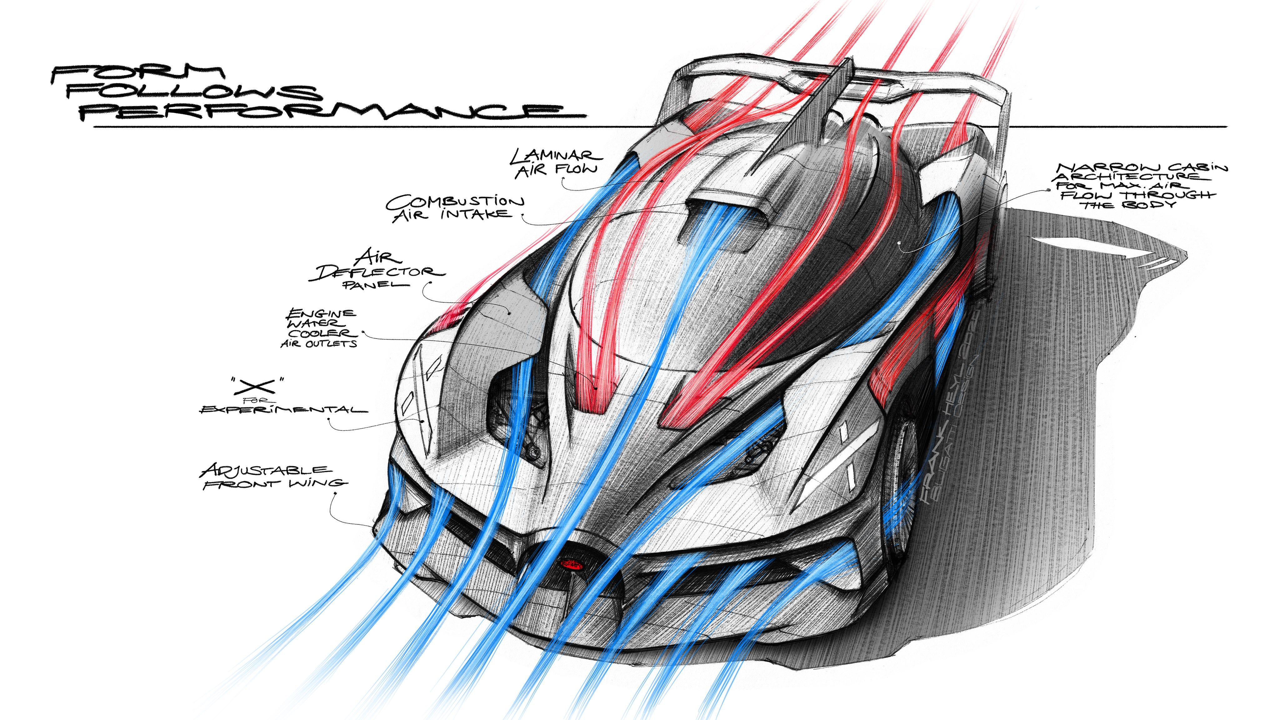 The Bugatti Bolide Concept Is An Ultralight Track Car With An 1 825 Hp 8 0 Liter W16 Engine