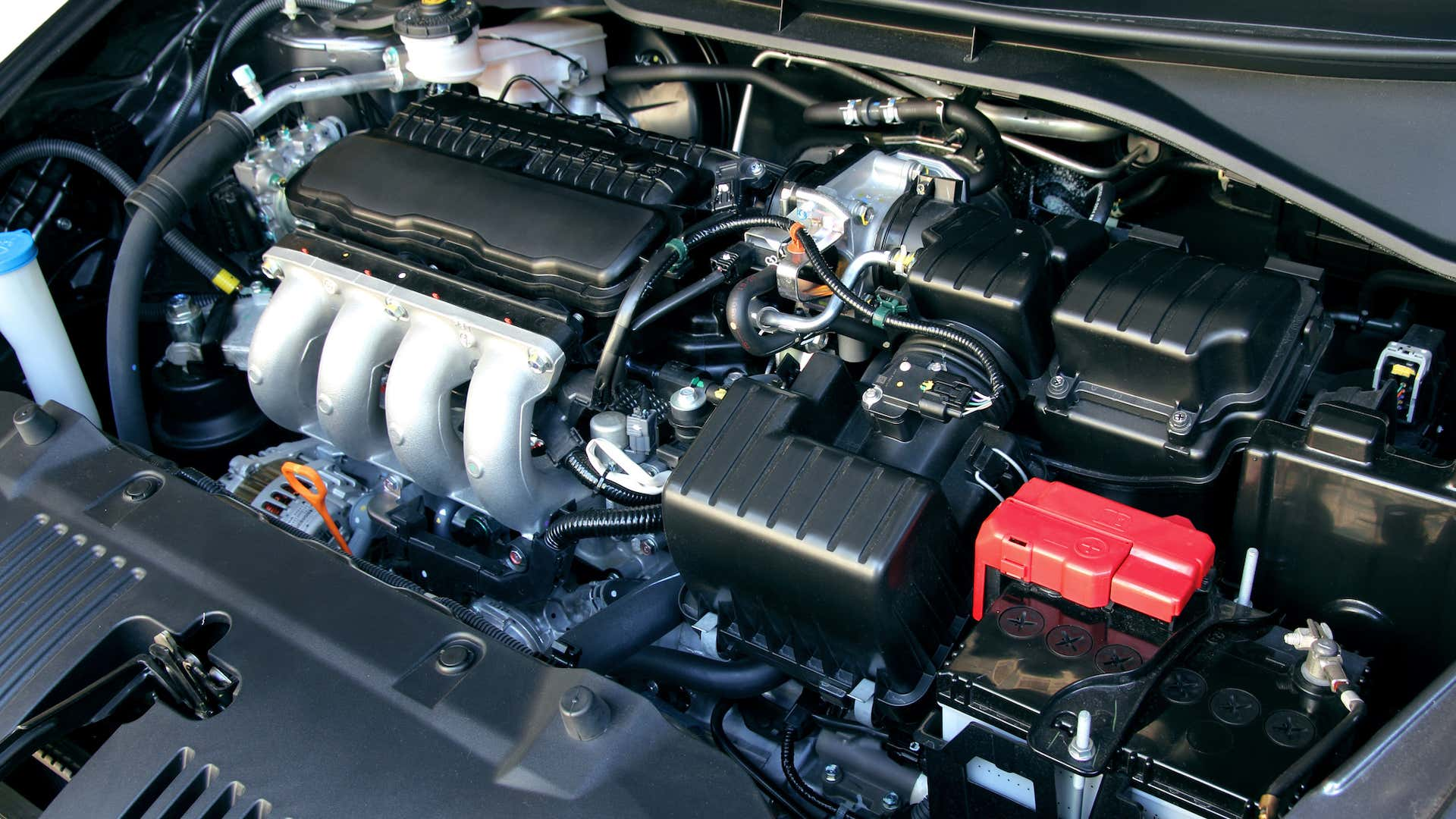 Spend some time familiarizing yourself with your car's engine bay.
