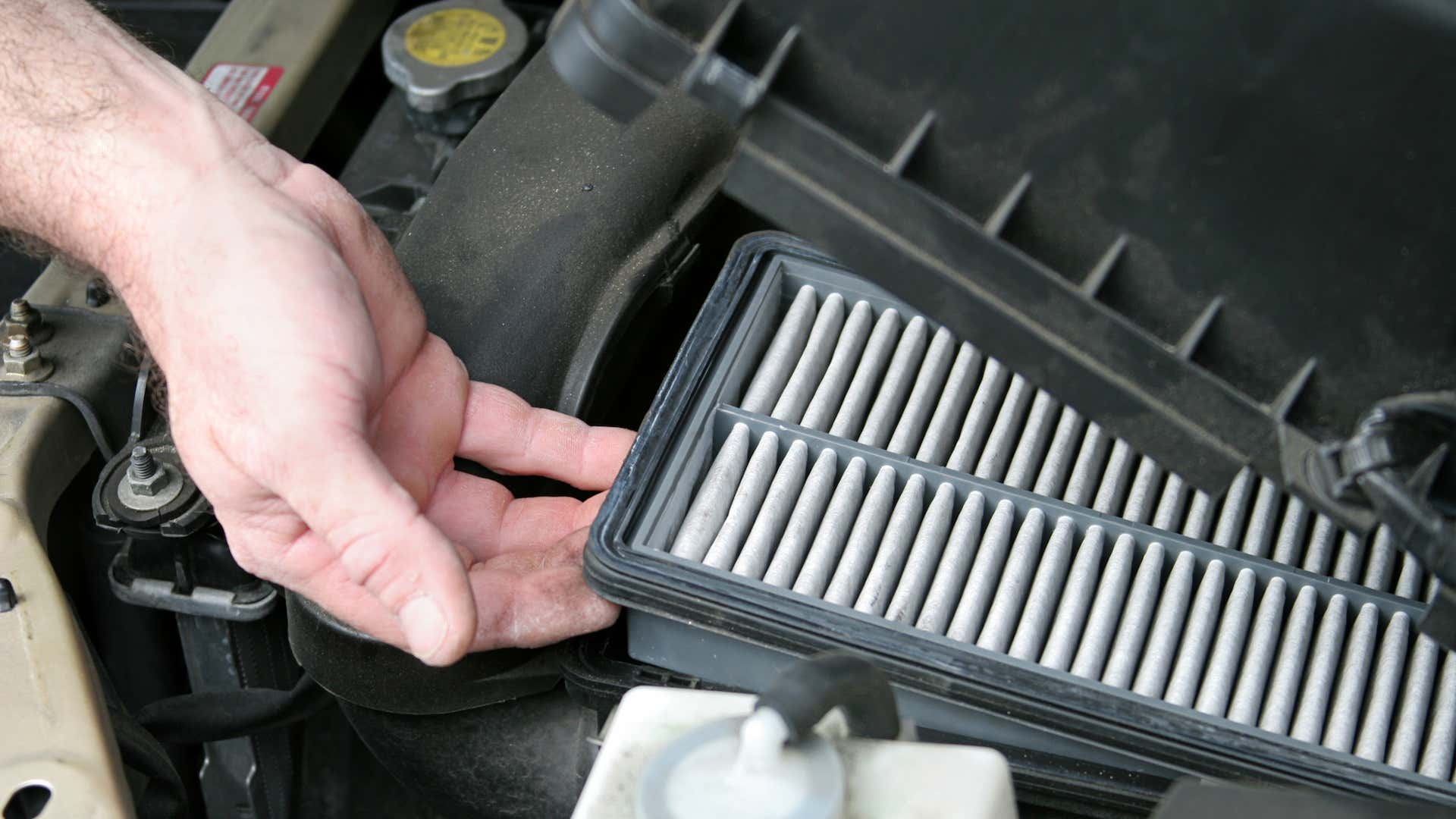 Clean filters let your car - and you - breathe easier.