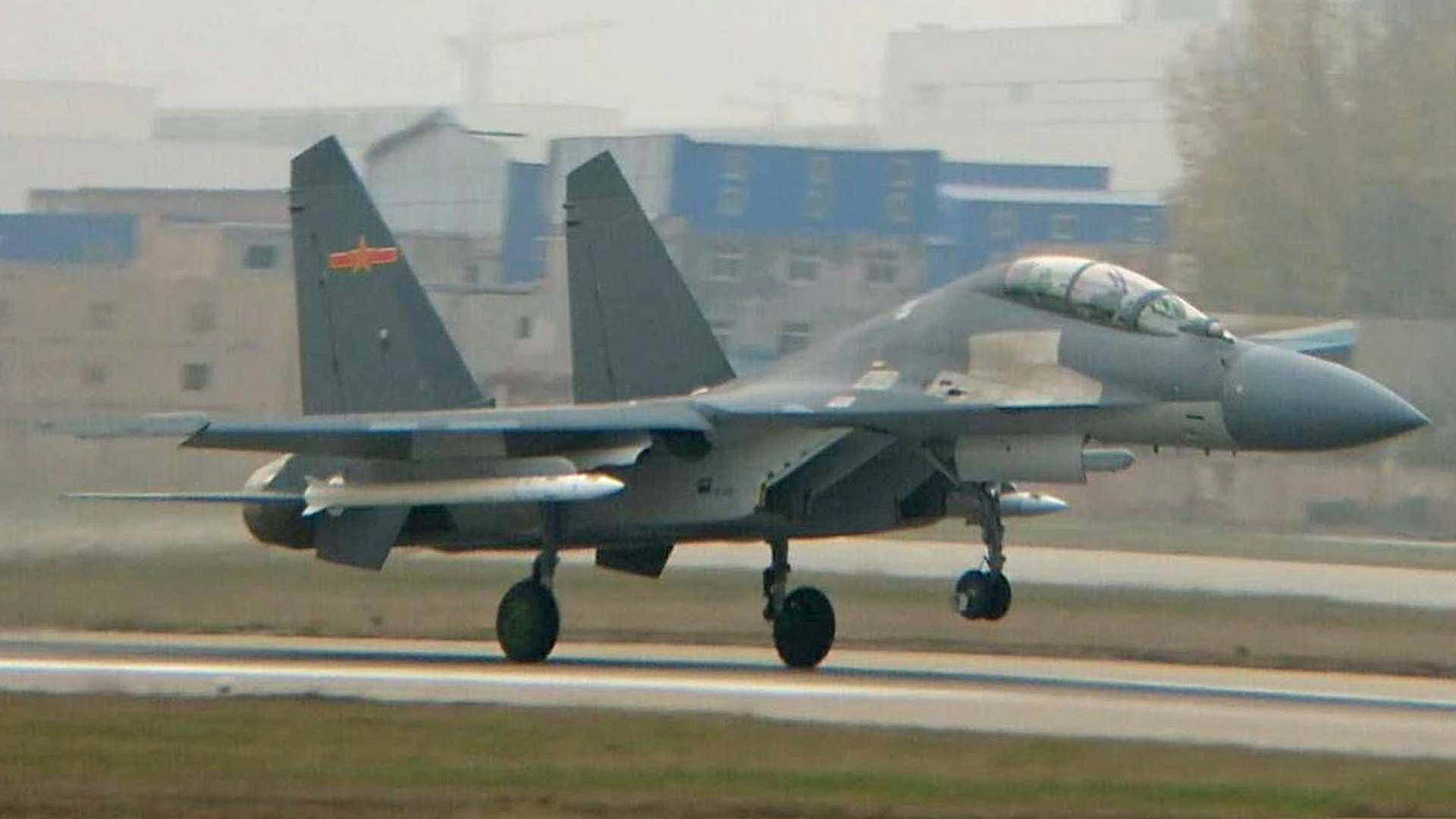 J-16 was spotted carrying this secretive air-to-air weapon in 2016 and could also be the intended platform for a new anti-radiation missile.