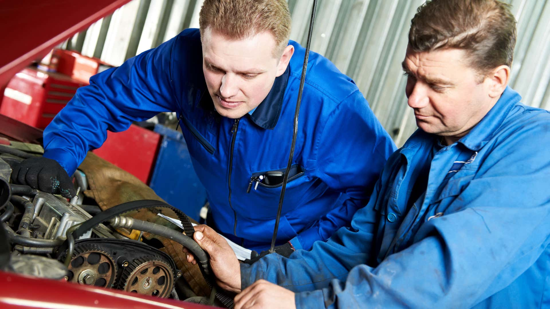 A broken timing belt can result in serious maintenance bills.