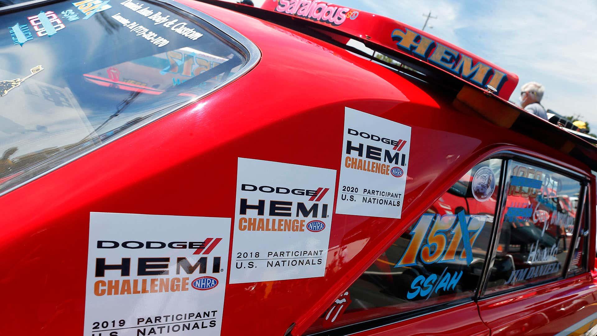 A Hemi drag racer.