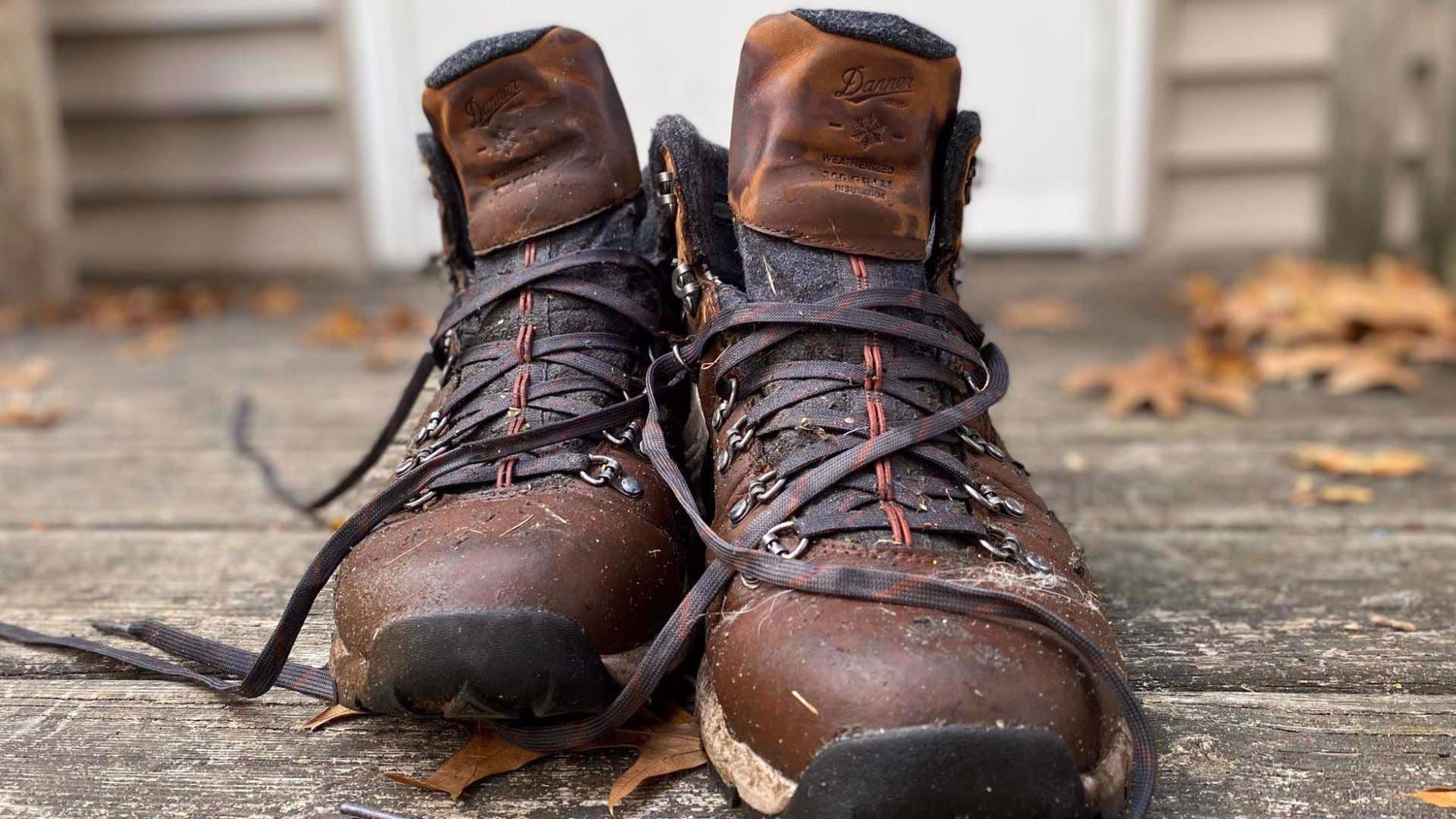 The author's own Danner Mountain 600 boots.
