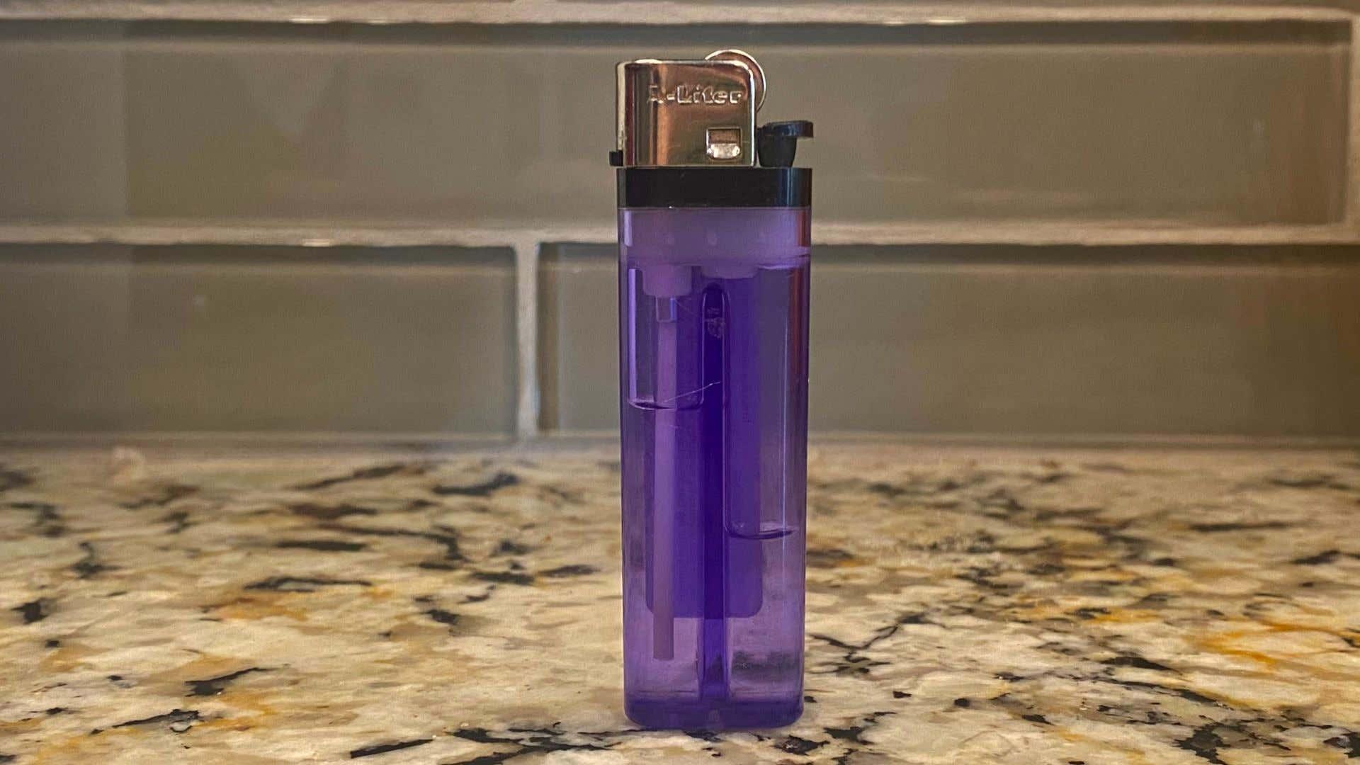 A simple lighter.
