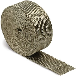 Design Engineering Titanium Exhaust Heat Wrap with LR Technology