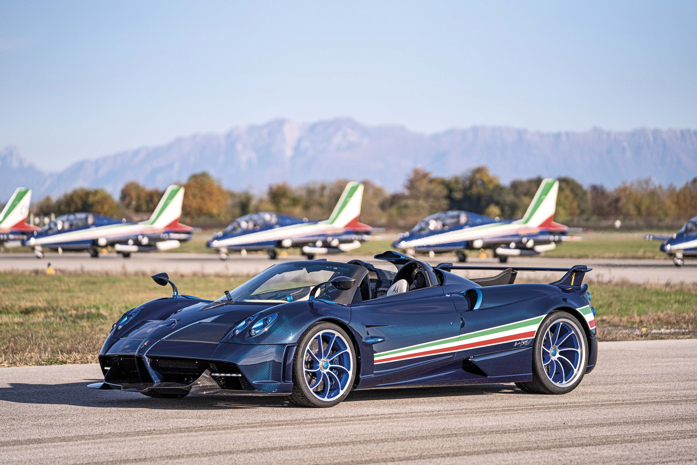 The 6 5m Pagani Huayra Tricolore Is So Much More Than A Flag Themed Tribute