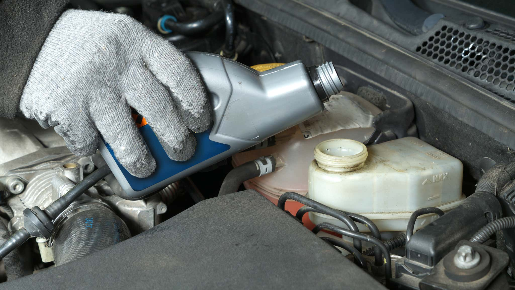 Brake fluid is cheap and readily available.