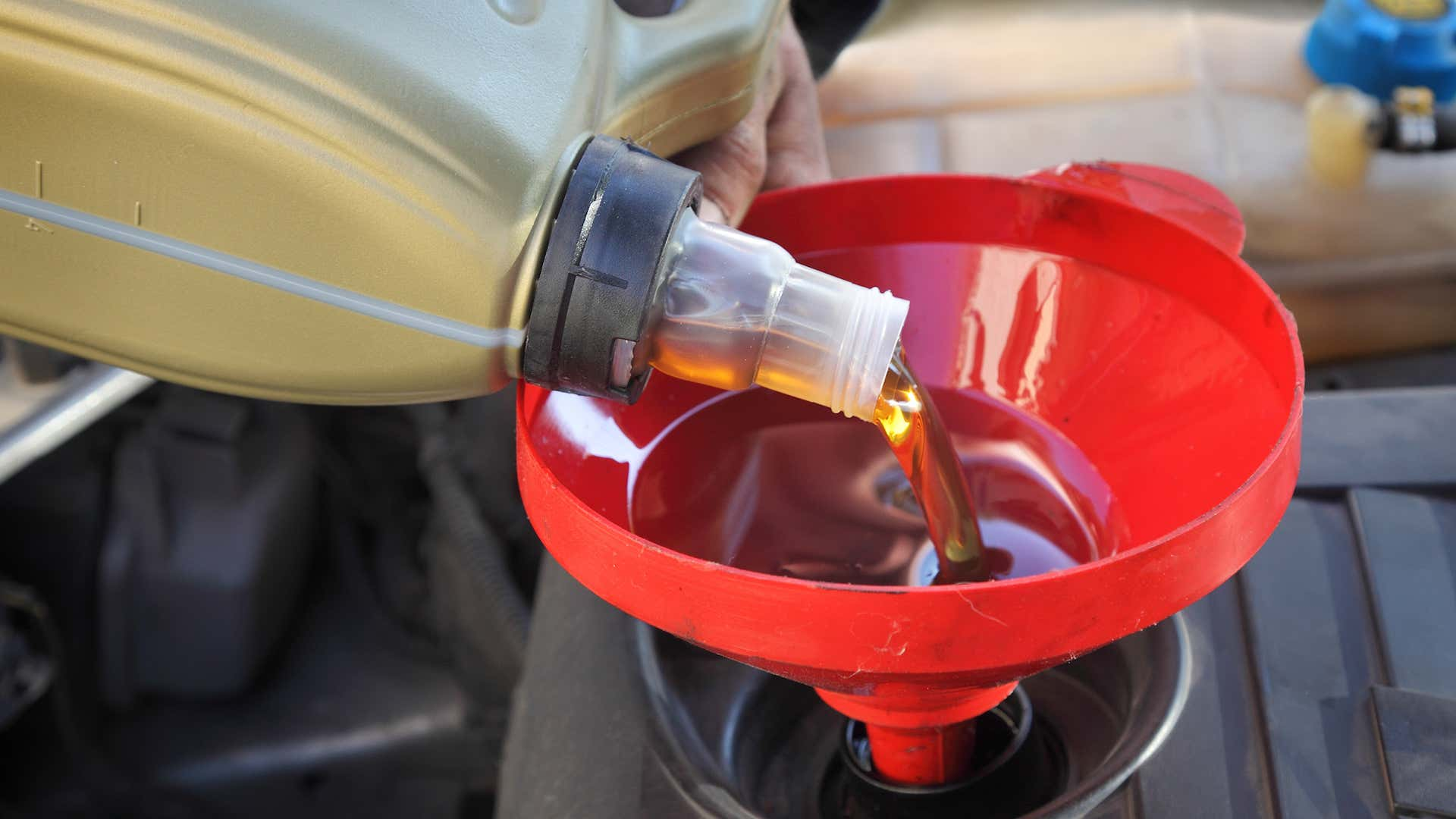 Keep an eye on your car's oil.