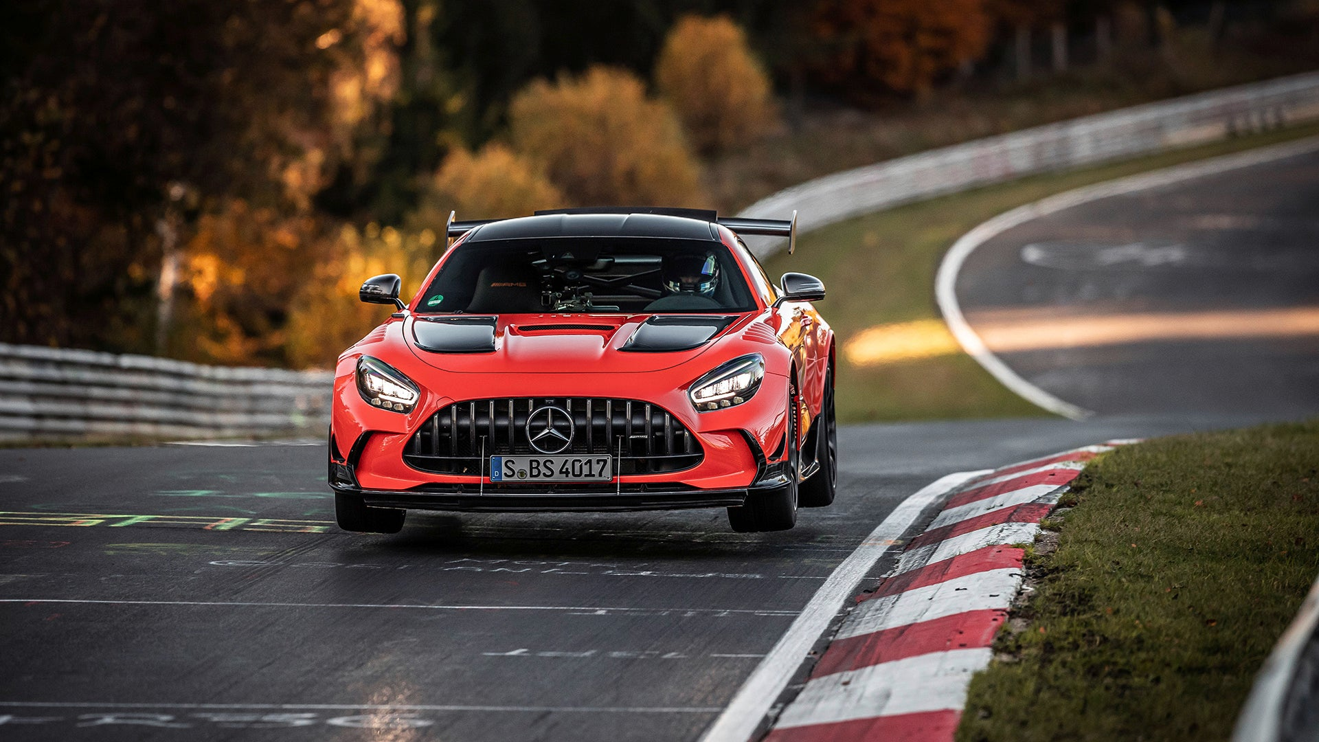 how the 2021 mercedes-amg gt black series broke the