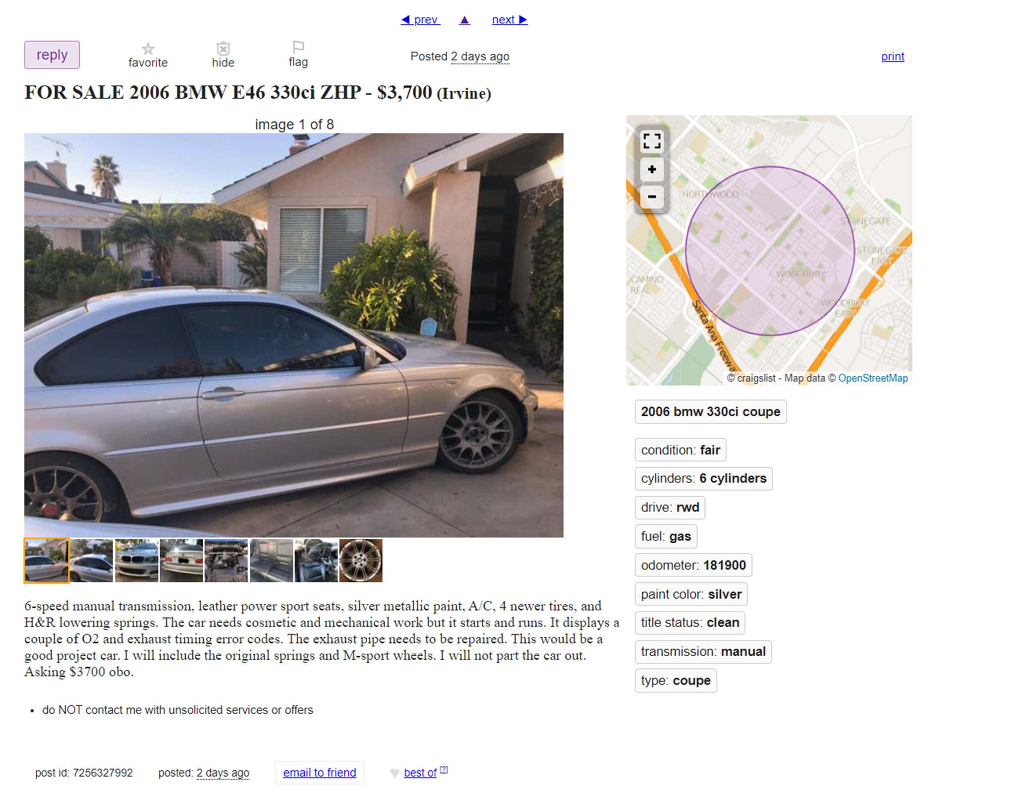 The Six Stages of Buying a Cheap Craigslist Car