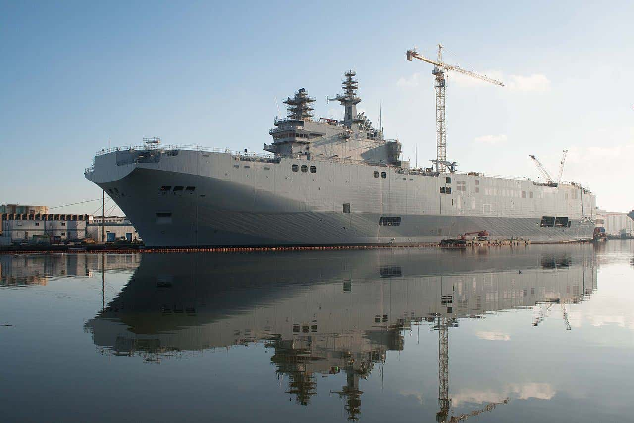 Russia Should Ditch Its Cursed Aircraft Carrier And Focus On Its Two New Amphibious Assault Ships