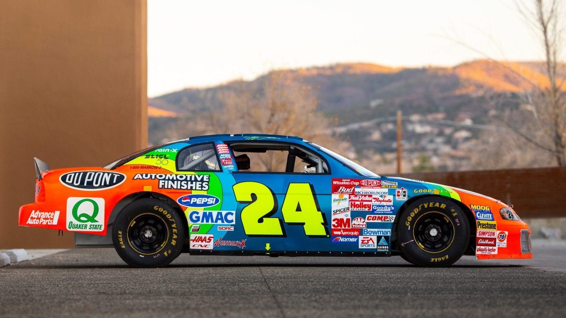 Jeff Gordon S Former Nascar Chevy Monte Carlo Would Make A Top Shelf Track Toy