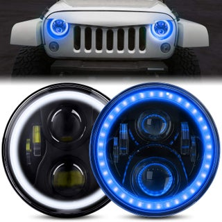 DOT Approved 7 Inch LED Halo Headlights for Wrangler
