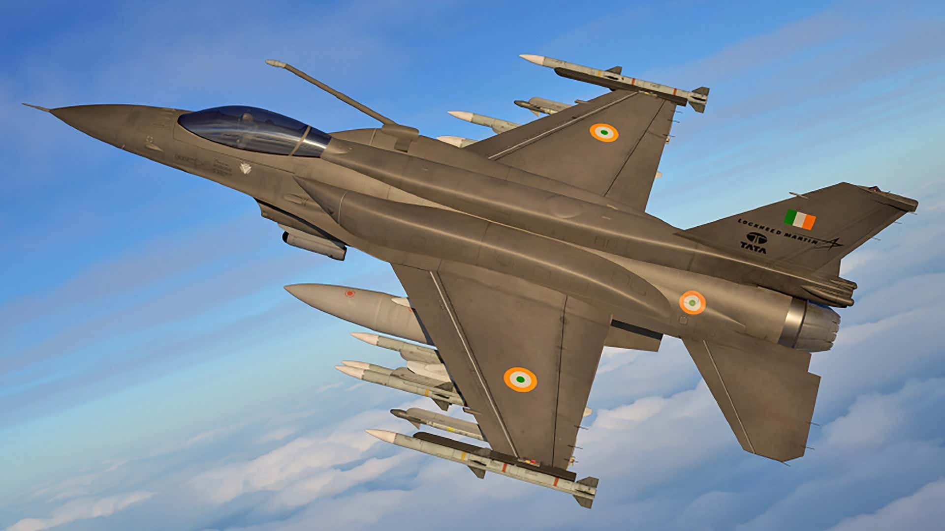 Lockheed Martin rebranded its latest advanced F-16 offering for India as the F-21.