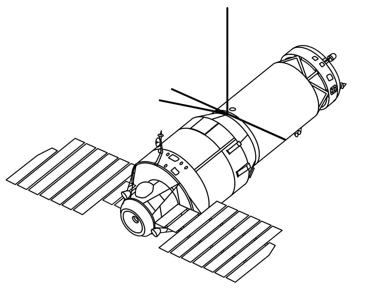 Это наш лучший взгляд на секретную космическую пушку Советского Союза