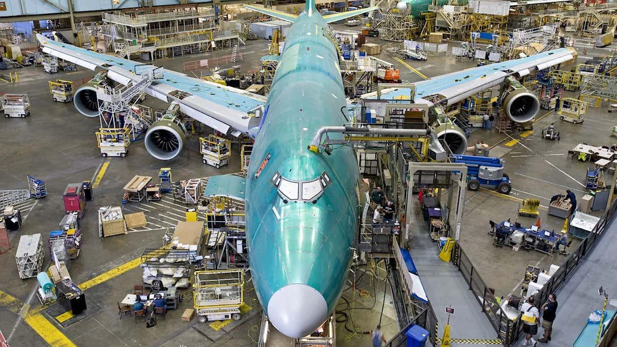 Требования к новым самолетам судного дня ВВС, похоже, исключают все, кроме 747